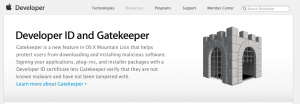 (c) Apple.com - Developer Website Screenshot, Accessed 2012-09-04 at 19.43.32