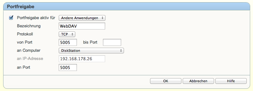 WebDAV mit der Synology DiskStation & GoodReader – MacTopics de