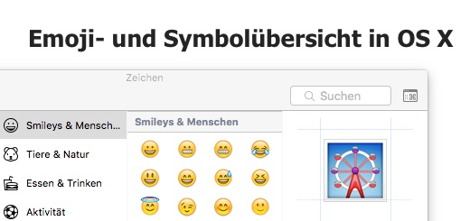 emoji-übersicht