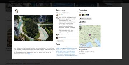otzberg.net/migo Detailansicht mit Kommentare, Likes & Landkarte